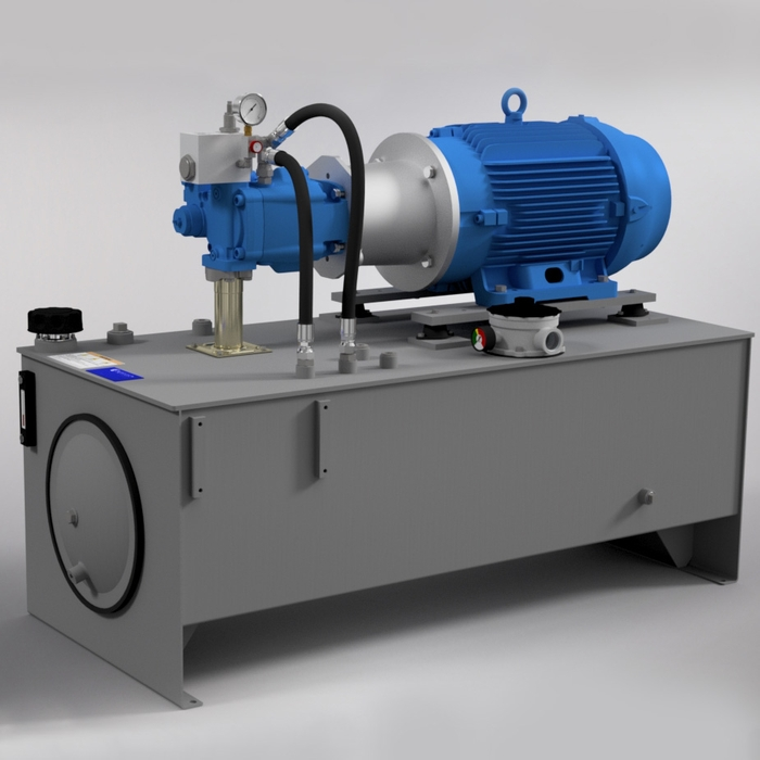 40 HP Medium-Pressure Hydraulic Power Unit