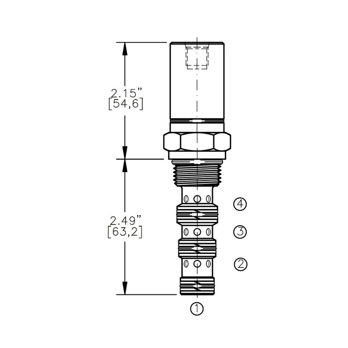 Bucher AODV-10-4A Air Operated Directional Control Valve