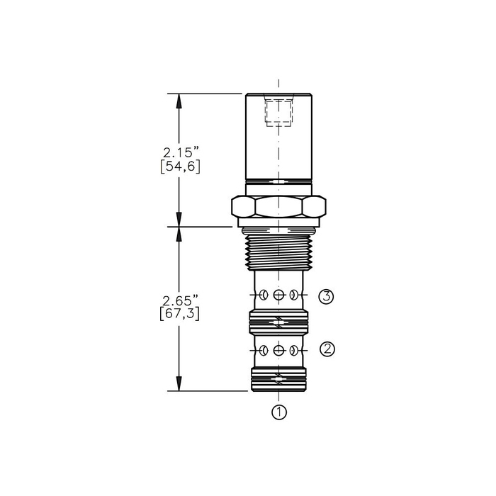 Bucher AODV-12-3C Air Operated Directional Control Valve