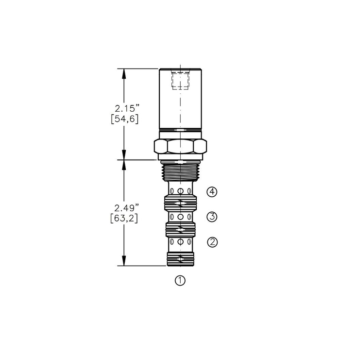 Bucher AODV-12-4D Air Operated Directional Control Valve