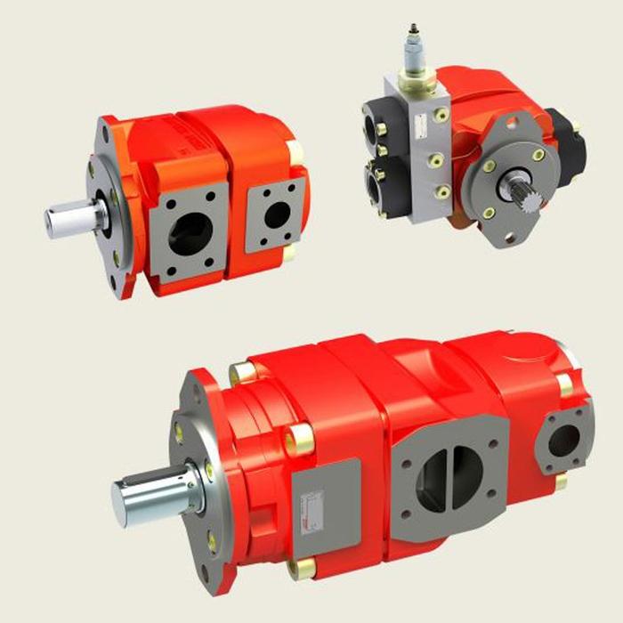 Bucher QX8 Fixed Displacement Gear Pump