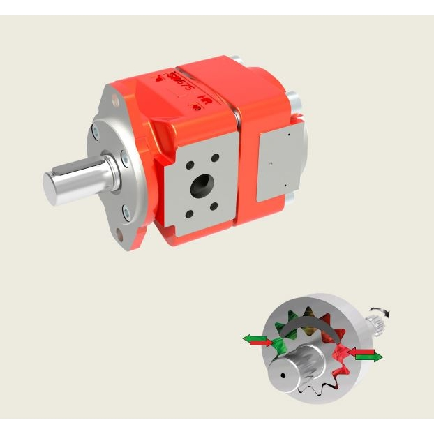 Bucher QXEM3 Gear Pump