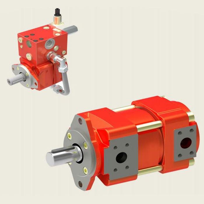 Bucher QXM8 Gear Pump