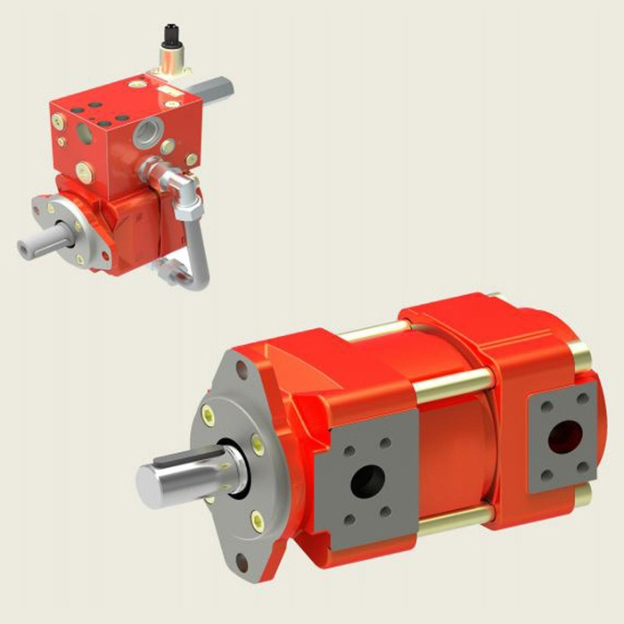Bucher QXM4 Gear Pump