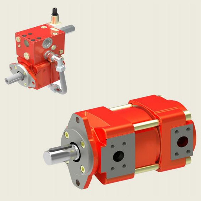 Bucher QXM6 Gear Pump